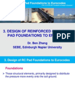 3. Design of Pad Foundations According to EC2