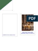 Portada Guía Santa Misa Tradicional rito romano