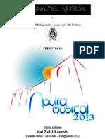 Comunicato Apulia Musical 2013