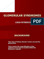 Curs 01 Engleza Glomerular Syndromes