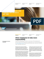 Empowering Employees With the Employee Self-Service in SAP ERP