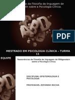 Seminário de Epistemologia e Clínica