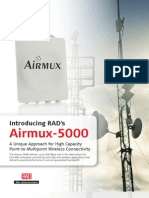 Wireless PTMP Airmux 5000