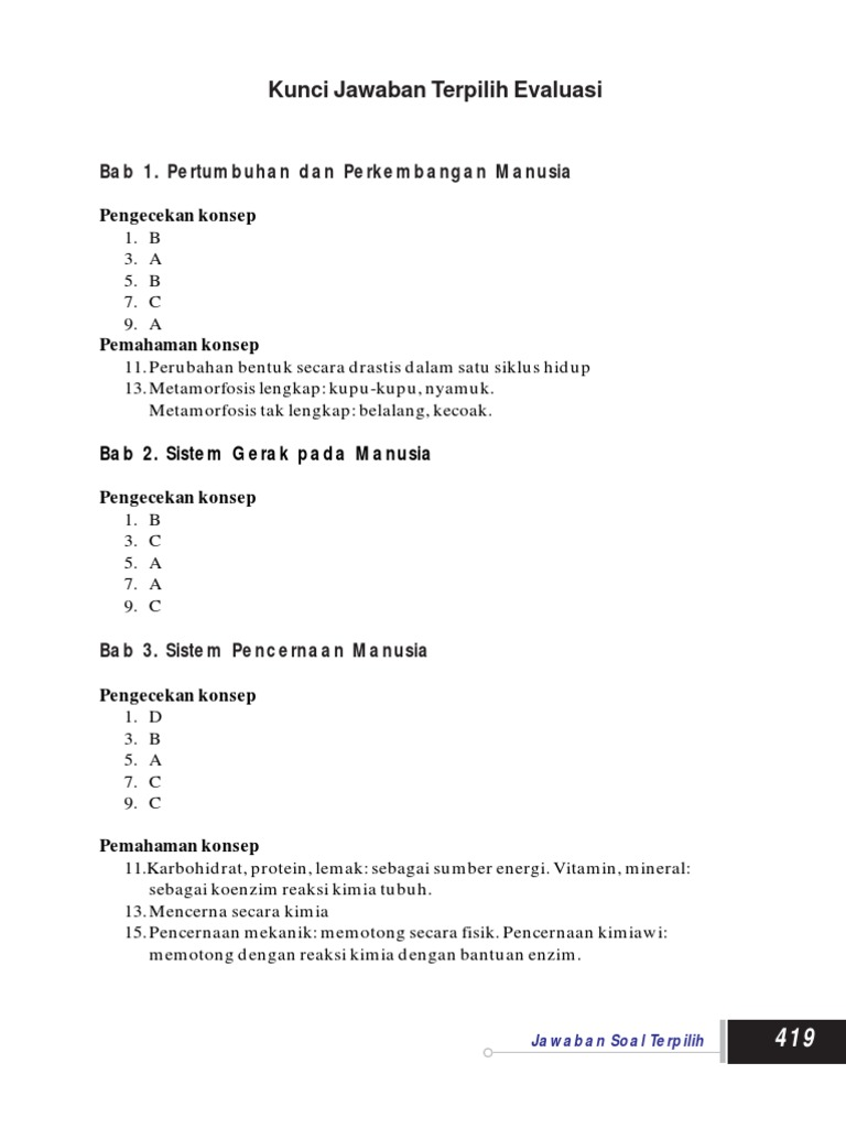 Kunci Jawaban Lks Ipa Kelas 8 Semester 1 Ilmusosial Id