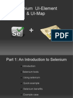 Selenium UI Map