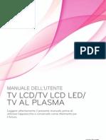 Manuale Televisore LG