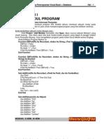 eBook Belajar Bahasa Pemrograman Visual Basic + Database