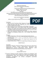 PeraturanKeputusan Kepala BPKP Tahun 1994 KEP BERSAMA JAKSA BPKP 042 1994
