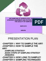 Pilot-Chemical Sampling and Analytical Methods