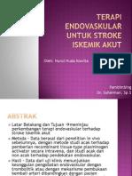 Terapi Endovaskular Untuk Stroke Iskemik Akut