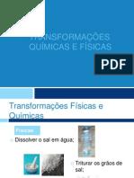 Transformac3a7c3b5es Fc3adsicas e Transformac3a7c3b5es Quc3admicas