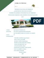 INVENTARIO, CATALOGACIÓN Y JERARQUIZACIÓN DISTRITO MAGDALENA DE CAO Y ANEXO SALAMANCA