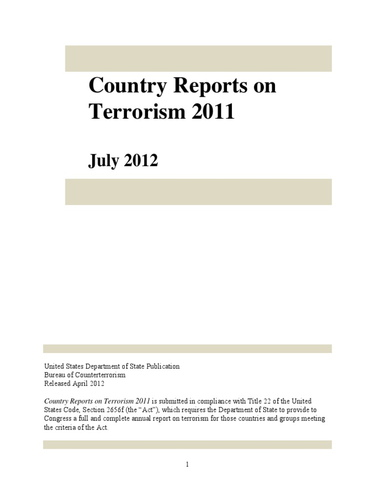 Plan cellule dynamis sur defender - Country Reports On Terrorism 2011 Uploaded By Richard J Campbell Money Laundering Counter Terrorism