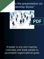 Commlab India Leadership-styles