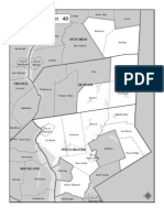 New York State 40th Senate District (currently represented by Greg Ball, R-Carmel)