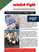 Socialist Fight No 13 ConDems decimate the Welfare State
