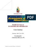 Estudio de Caso I - Unit Outline 2010