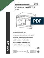 LMR-111D, Installation Instructions 4189340235 UK