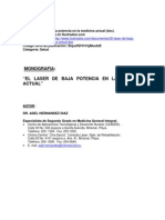 (Monografia. El Laser de Baja Potencia en La Medicina Actua 205) 1