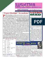 ASTROAMERICA NEWSLETTER DATED APRIL 23, 2013