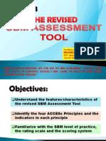Ppt, Sbm Assessment Tool