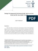 Strategic Developments In The Western Pacific