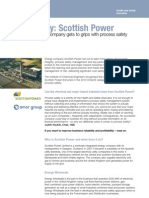 Case Study Scottish Power (Process Safety)