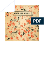 Langue Française Poésie Voici des Roses Bourrelier