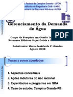 Gerenciamento Demanda-Agua GDA