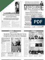 Versión impresa del periódico El mexiquense 23 abril 2013
