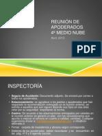 REUNIÓN DE APODERADOS ABRIL