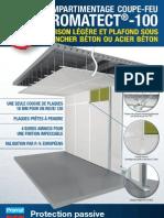 Cloisons et plafonds coupe-feu PROMATECT®-100