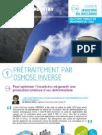 FR - Unités mobiles - Retour d'expérience client industrie Nucléaire - Degrémont Industry