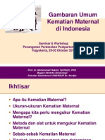 Gambaran Umum Kematian Maternal Di Indonesia_2010