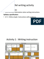 38736959 Parallel Writing Activity