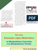 A Educação Lógico-Matemática + Manipulativos - Estendida