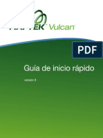 Vulcan 8 Quickstart Guide Spanish