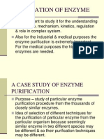 Purification of Enzyme