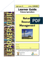 Natural Resource Management 116165 Learner Guide