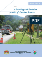 Guidelines for Noise Labelling and Emission Limits of Outdoor Sources 2nd Edition 2007