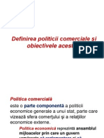 Politica Comerciala Vamala