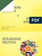 Inteligencias Multiples y Estilos de Aprendizaje