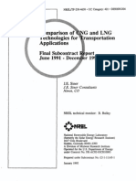 1991 - Comparison CNG and LNG Tecnologies