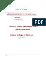 Dissertation-customer Loyalty Tesco