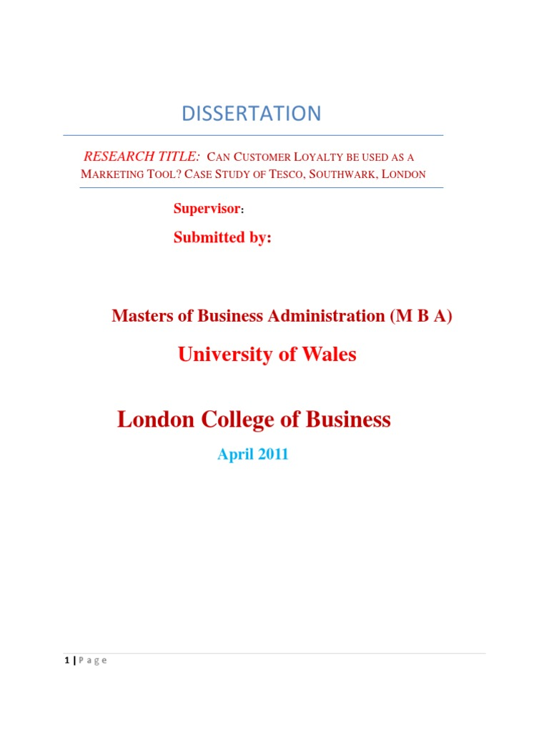 Dissertation diversity audit