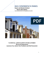 March 2013 Realtors Confidence Index Report
