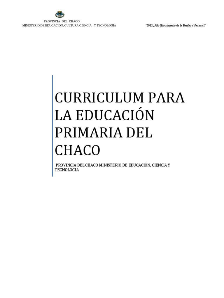 Educacion Primaria - Chaco