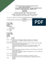 Spring 2008 Programme