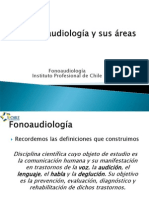 Areas de La Fonoaudiologia