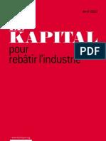 LE KAPITAL. Pour rebâtir l'industrie par Christian Saint-Etienne et Robin Rivaton